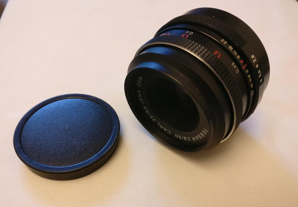 Tessar Carl Zeiss f2.8 50mm