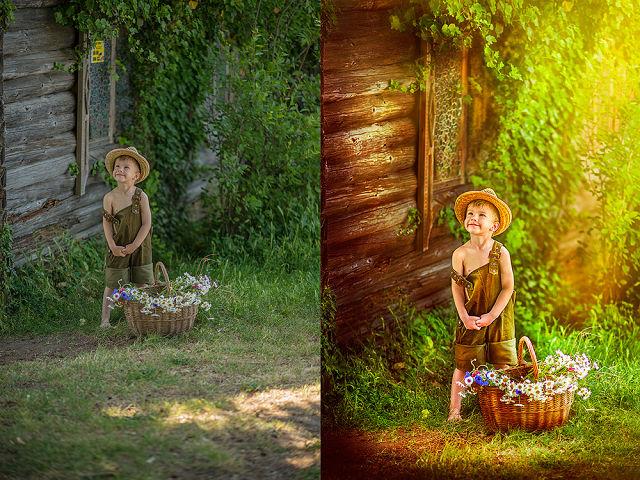 Как сделать в фотошопе сказочную фотографию